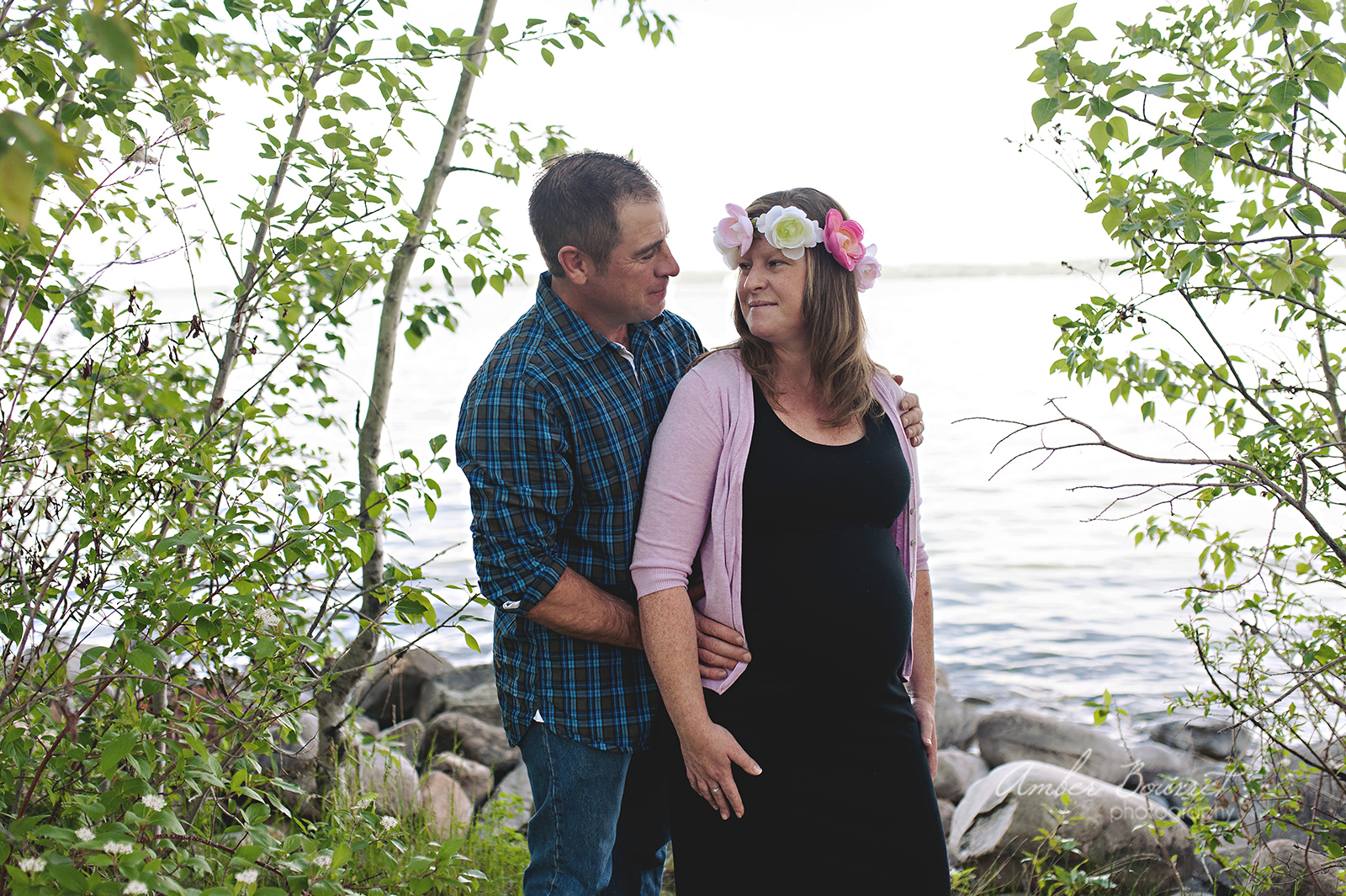 red deer maternity photography