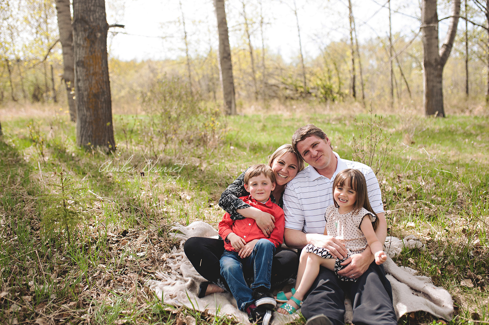 red deer family photography