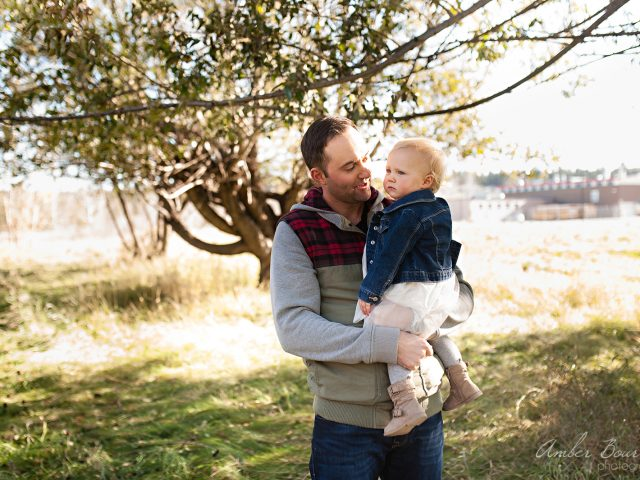 Becky and Jim – Fall Family Session