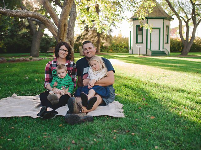 Taren and Dustin – Fall Family Session 2016