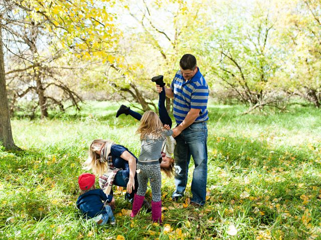 Thera and Garett's Fall Family Session